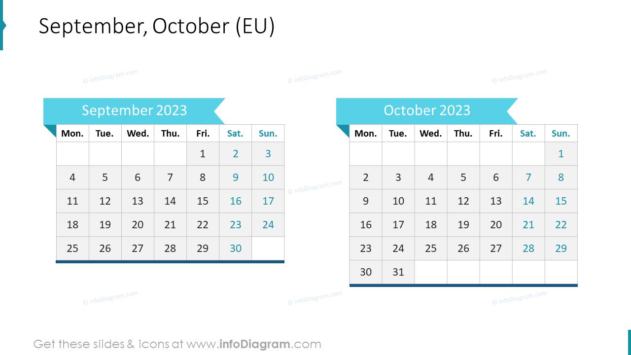 November December 2022 EU Calendar