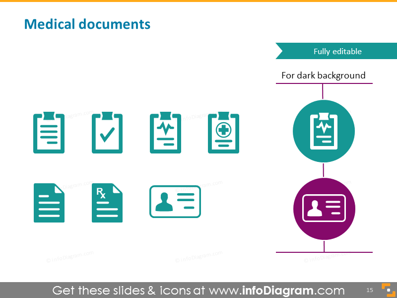 Medical document, patient record, disease report