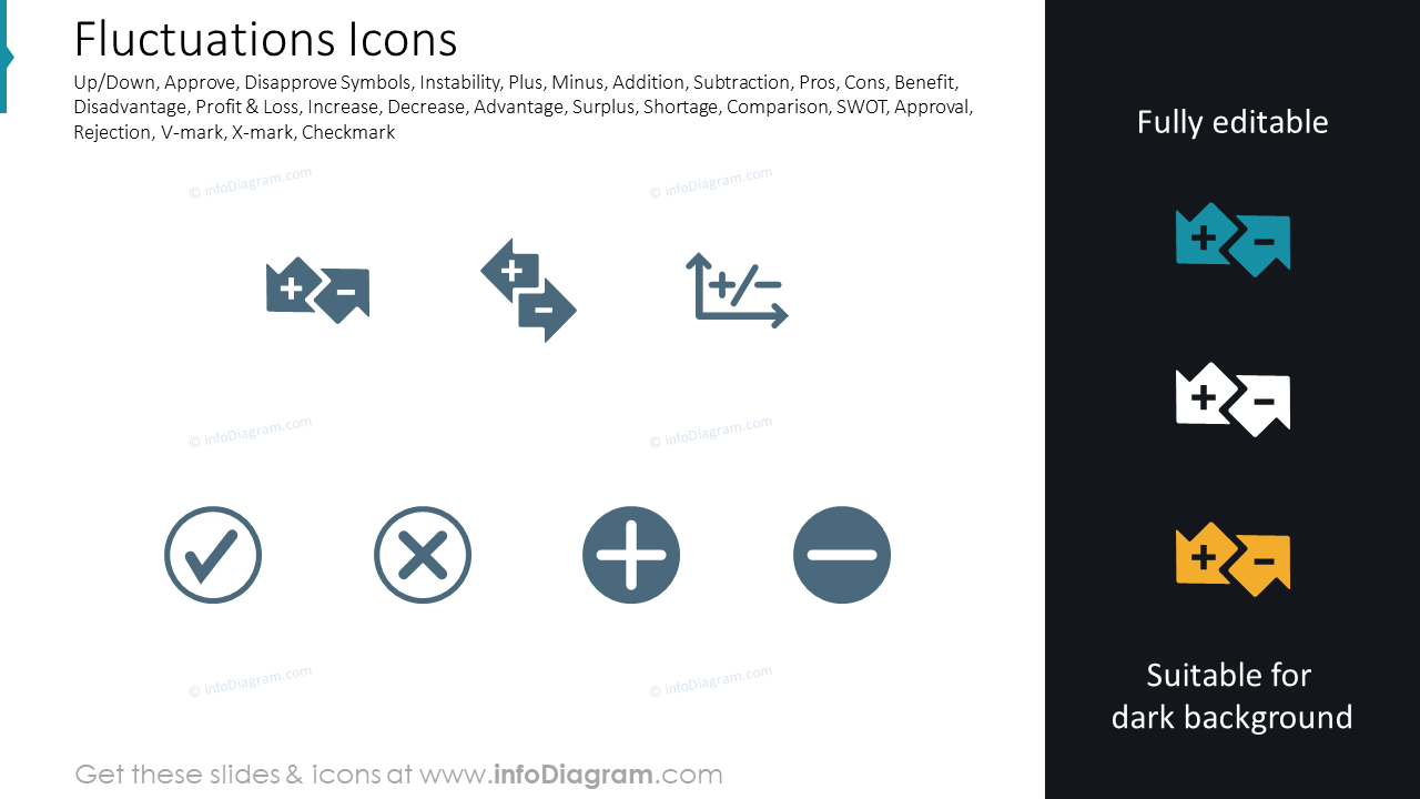 Fluctuations Icons