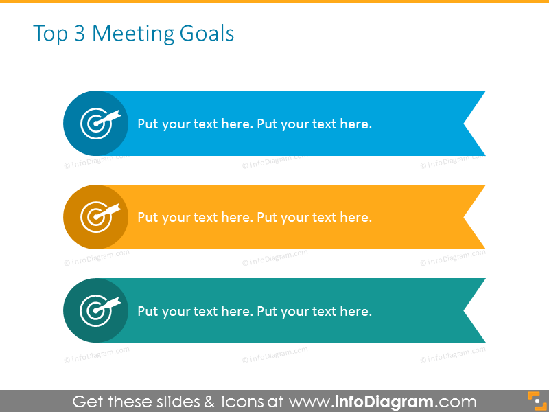 Business powerpoint professional template - meeting goals