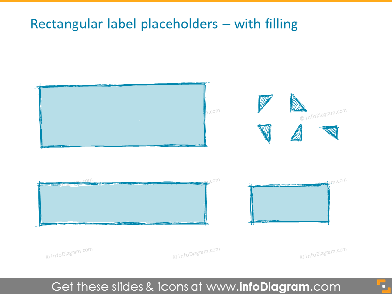 Label placeholders with filling