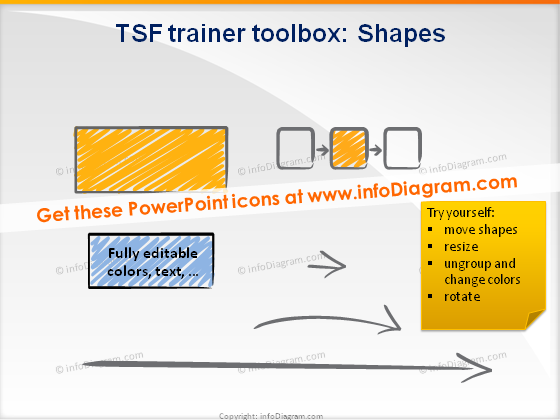 trainers toolbox scribble shapes