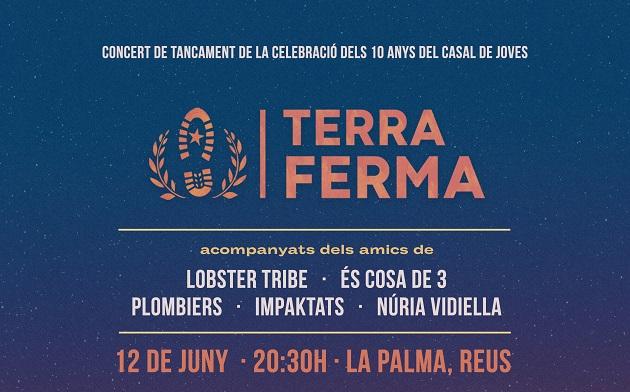 Concert Terra Ferma. 10 anys del Casal de Joves la Palma