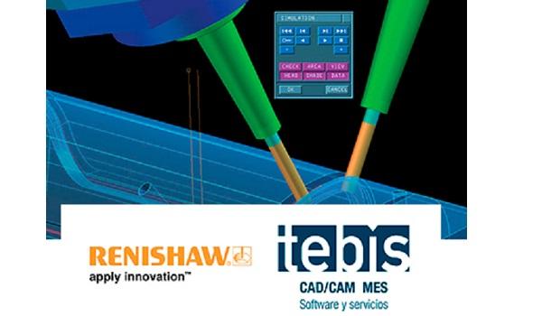 Renishaw y Tebis organizan un webinar para evitar fallos durante el proceso de mecanizado