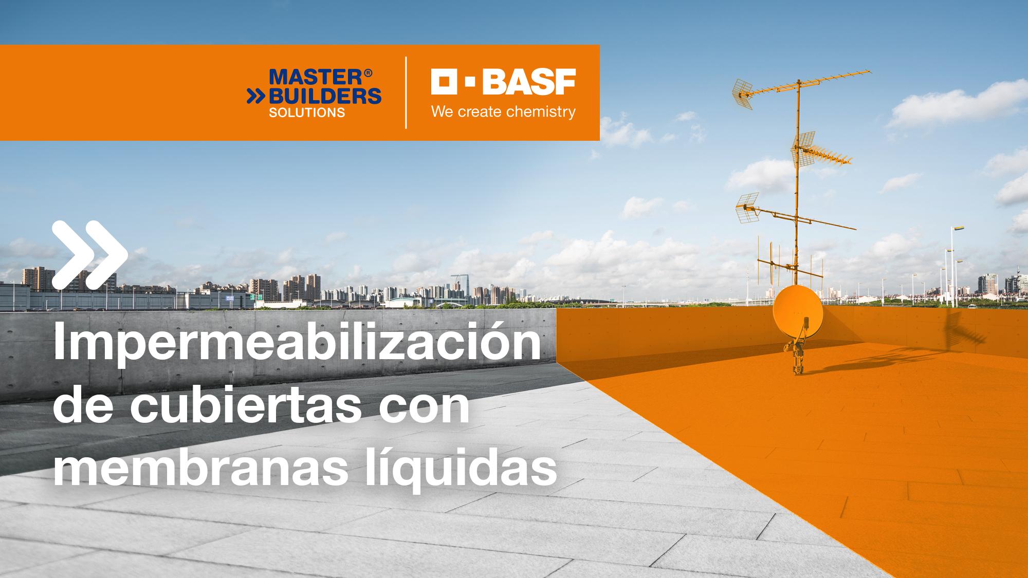Curso online: Impermeabilización de cubiertas en Edificación e Industria con membranas líquidas