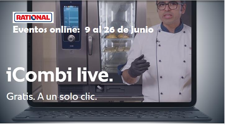 iCombi Pro Live - webinar profesionales