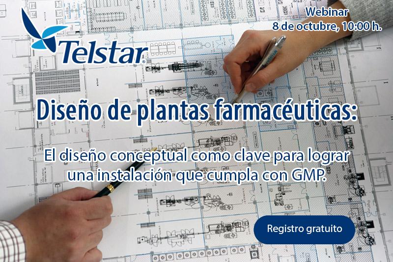 Diseño de plantas farmacéuticas: El diseño conceptual para lograr una instalación que cumpla con GMP-calendario webinars profesionales