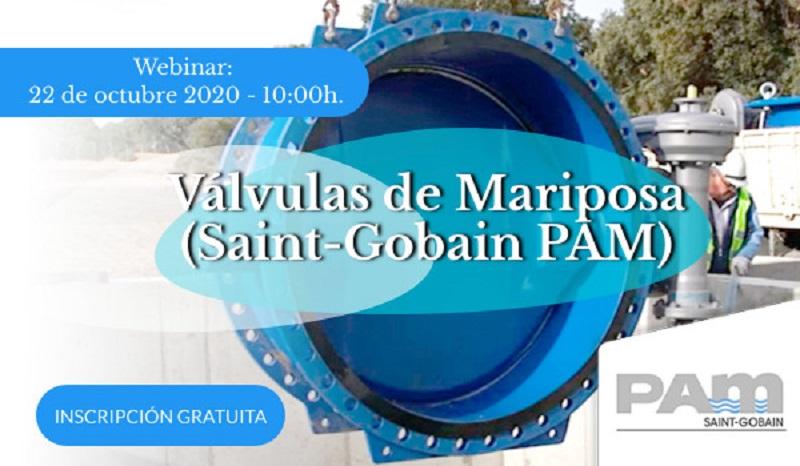 Válvulas de Mariposa (Saint-Gobain PAM) -  webinar área industria del agua