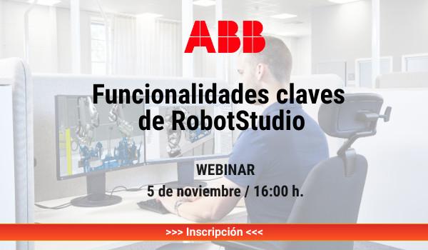 Funcionalidades claves de RobotStudio