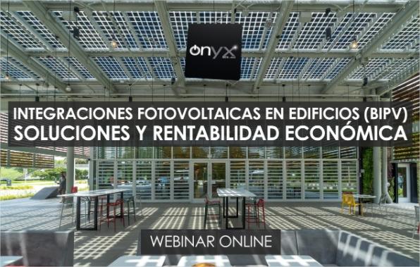 Integraciones fotovoltaicas en edificios (BIPV). Soluciones y rentabilidad económica - webinar construccion