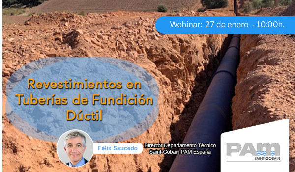 Revestimientos en Tuberías de Fundición Dúctil profesional webinar