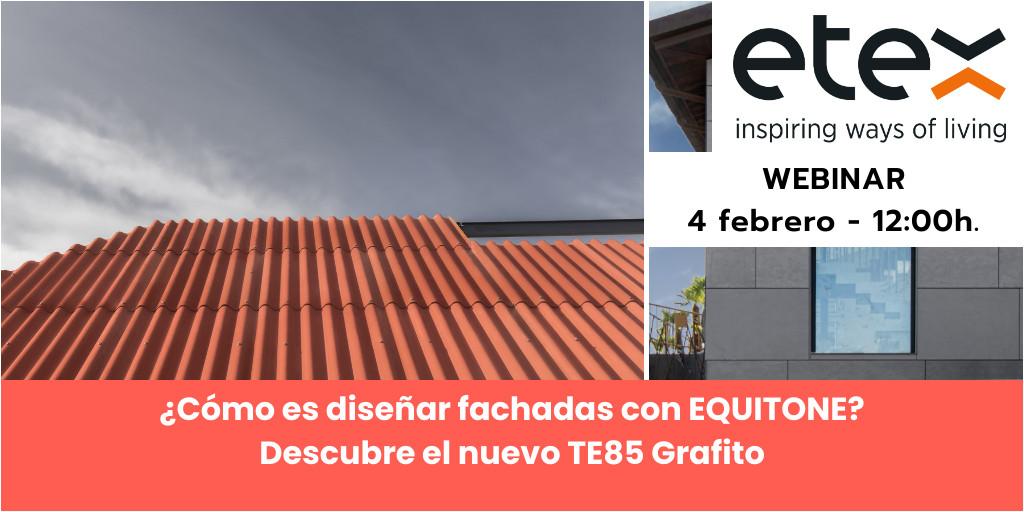 ¿Cómo es diseñar fachadas con EQUITONE?  Descubre el nuevo TE85 Grafito