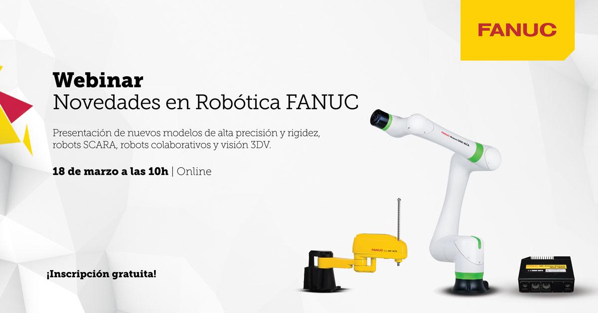 Novedades en Robotización de Carga/Descarga de Máquina Herramienta (QSSR) - webinar profesional