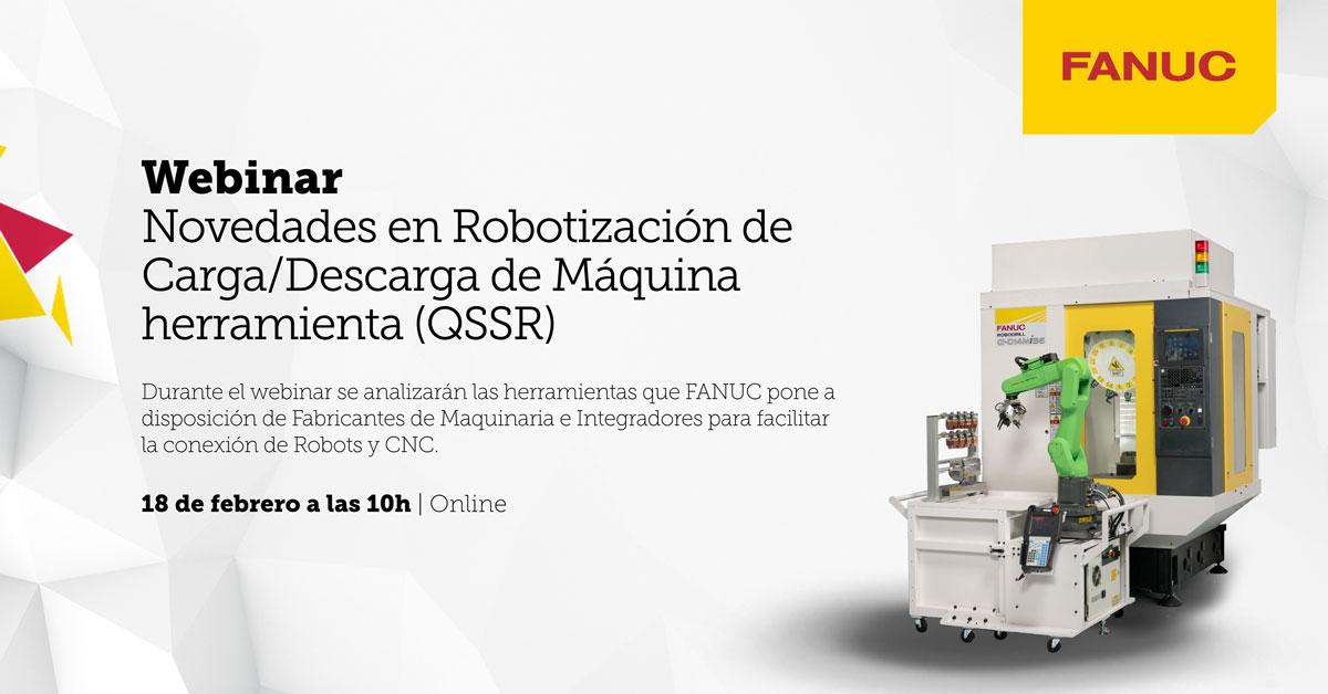Novedades en Robótica FANUC: nuevos modelos de alta precisión y rigidez, robots Scara, robots colaborativos, Visión 3DV