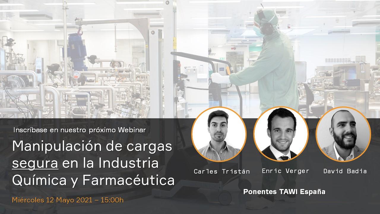 Manipulación de cargas segura en la Industria Química y Farmacéutica