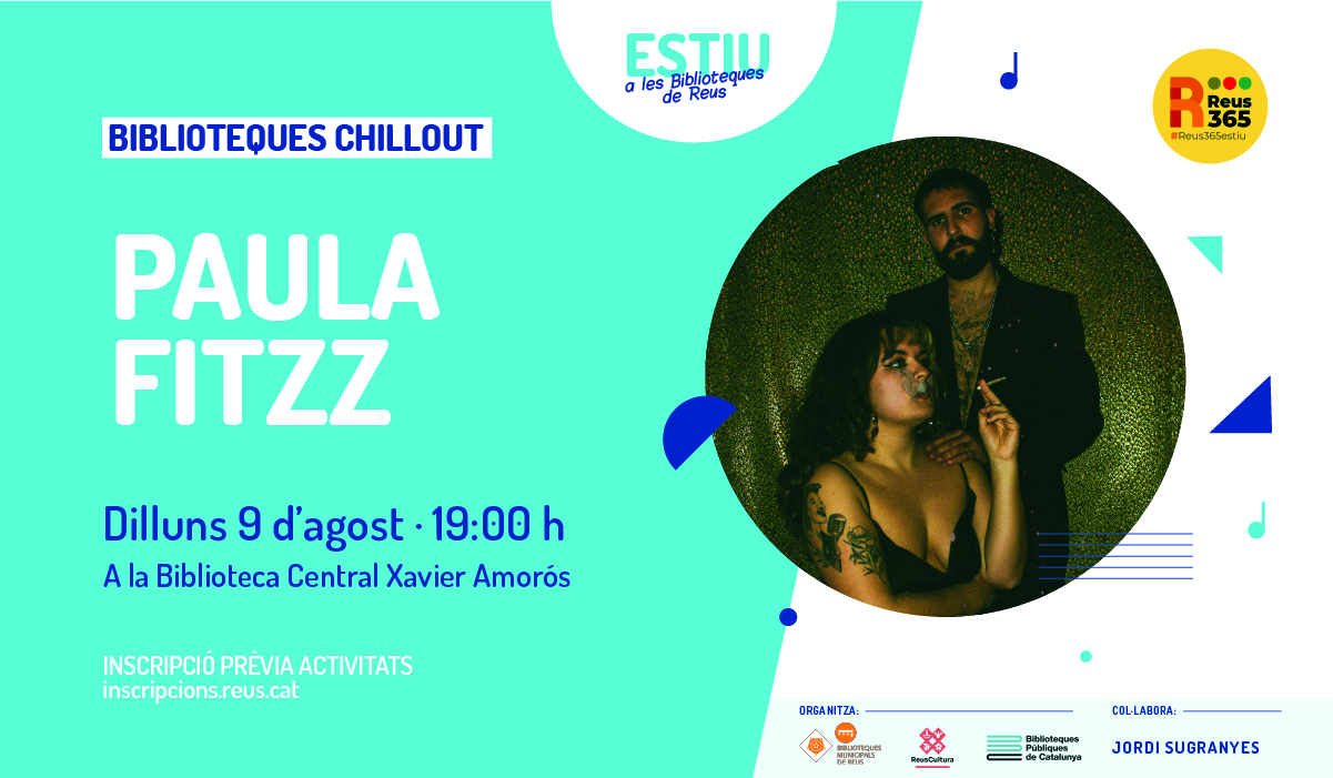 Biblioteques Chill Out. Paula Fitzz