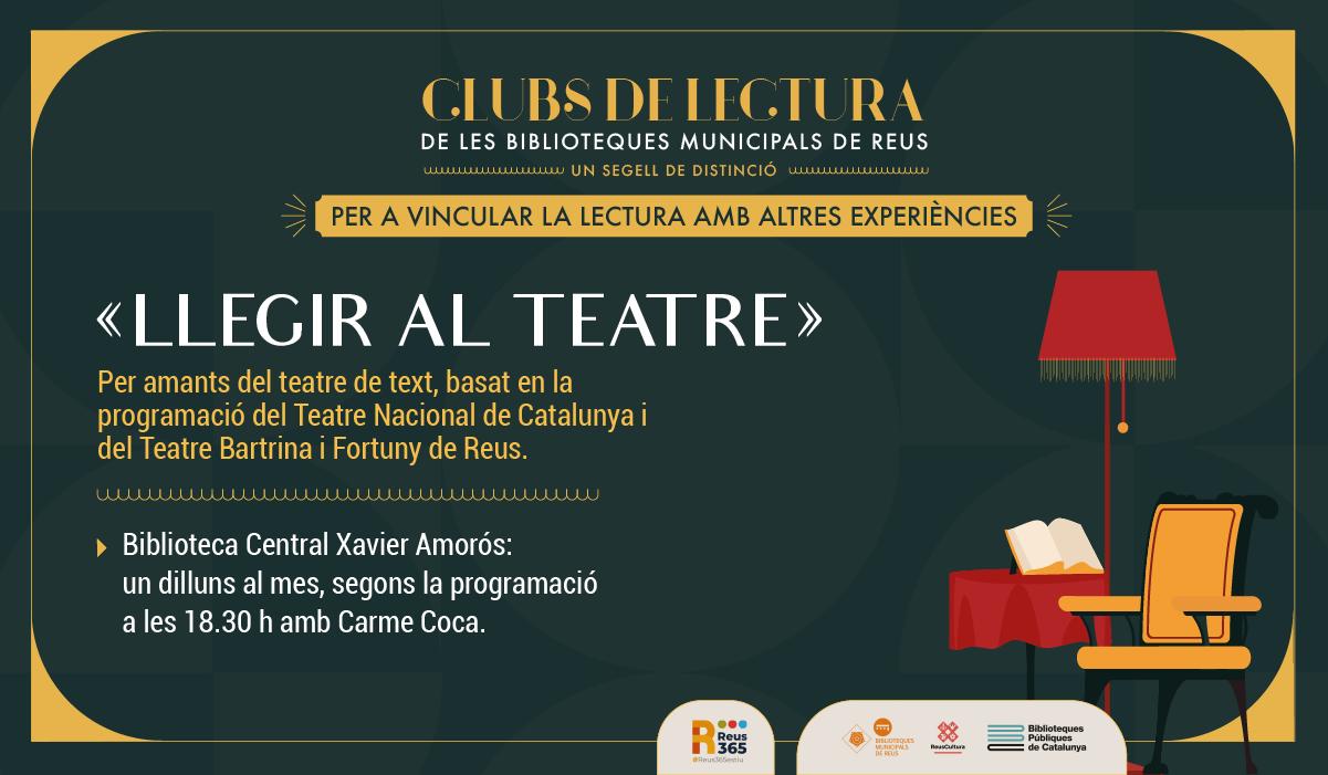 CLUB LLEGIR EL TEATRE