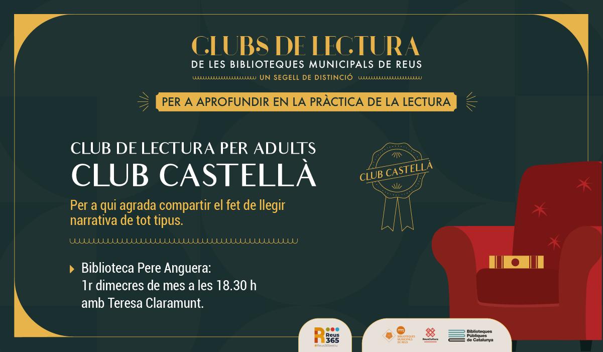 CLUB DE LECTURA PER ADULTS (CASTELLÀ)
