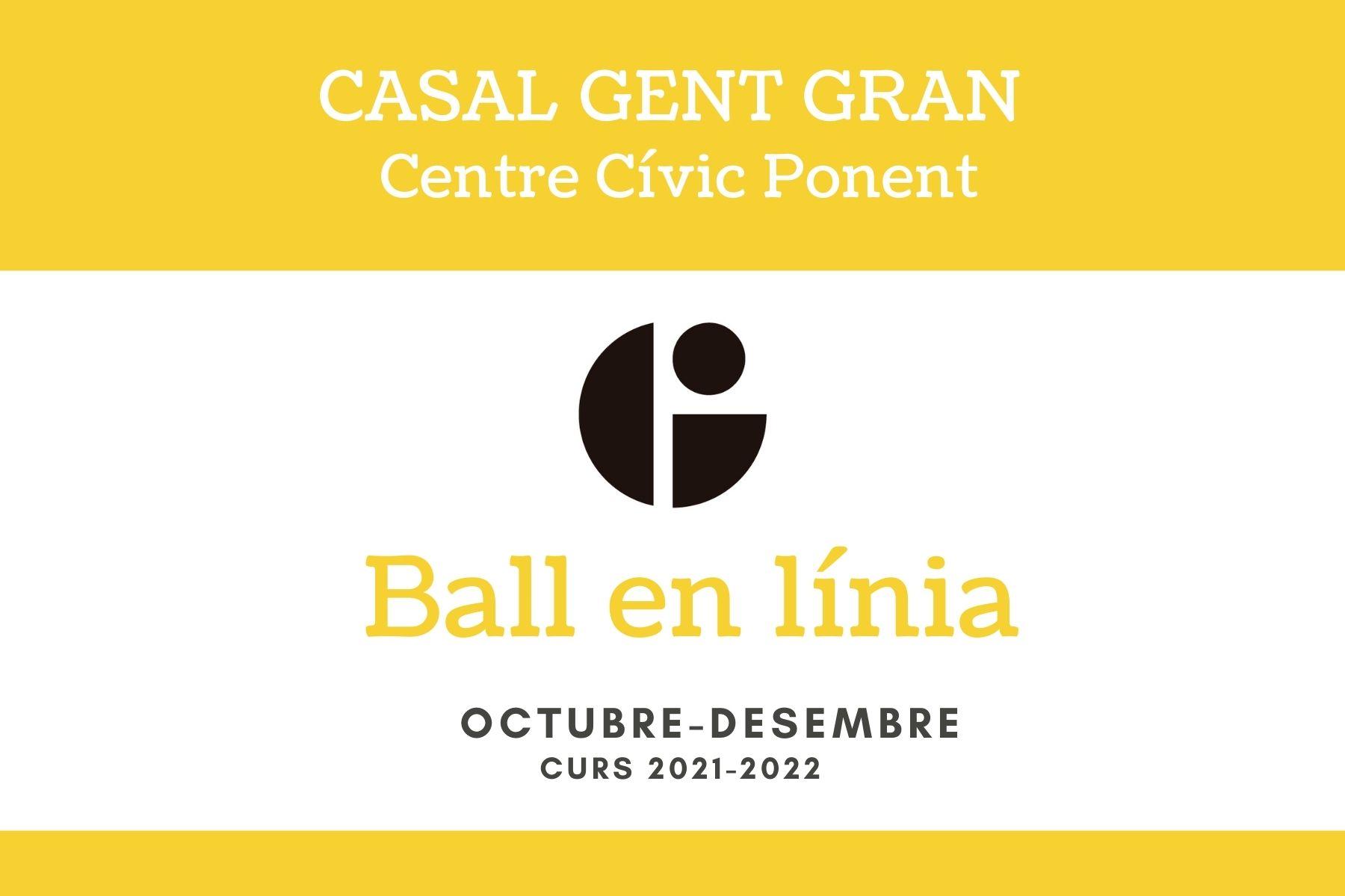 Ball en línia-Casal Gent Gran-C.C.Ponent