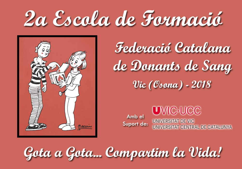 2a Escola de Formació de la Federació Catalana de Donants de Sang