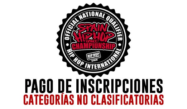 HHI SPAIN 2020 - INSCRIPCIONES CATEGORIA NO CLASIFICATORIA