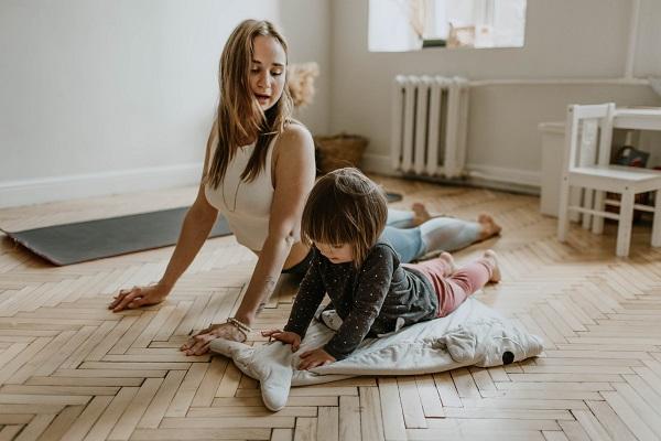 Pilates en família