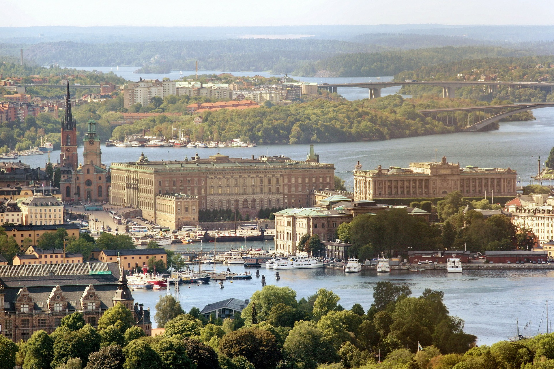 inspitrip countries for american to live sweden