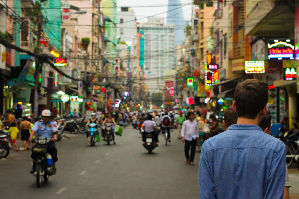 How to get off the beaten path at Bui Vien street in Saigon