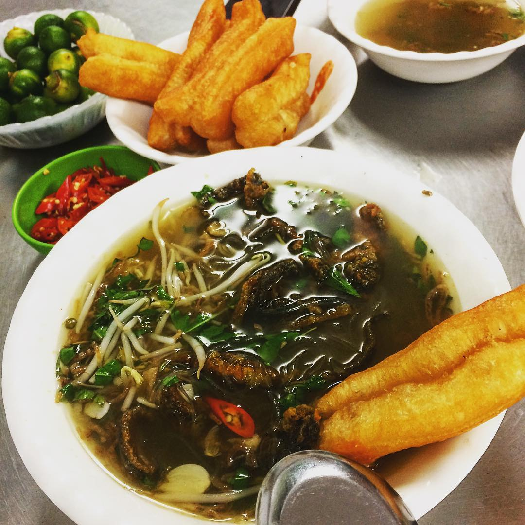Soya Noodles with Eels Dong Thinh hanoi