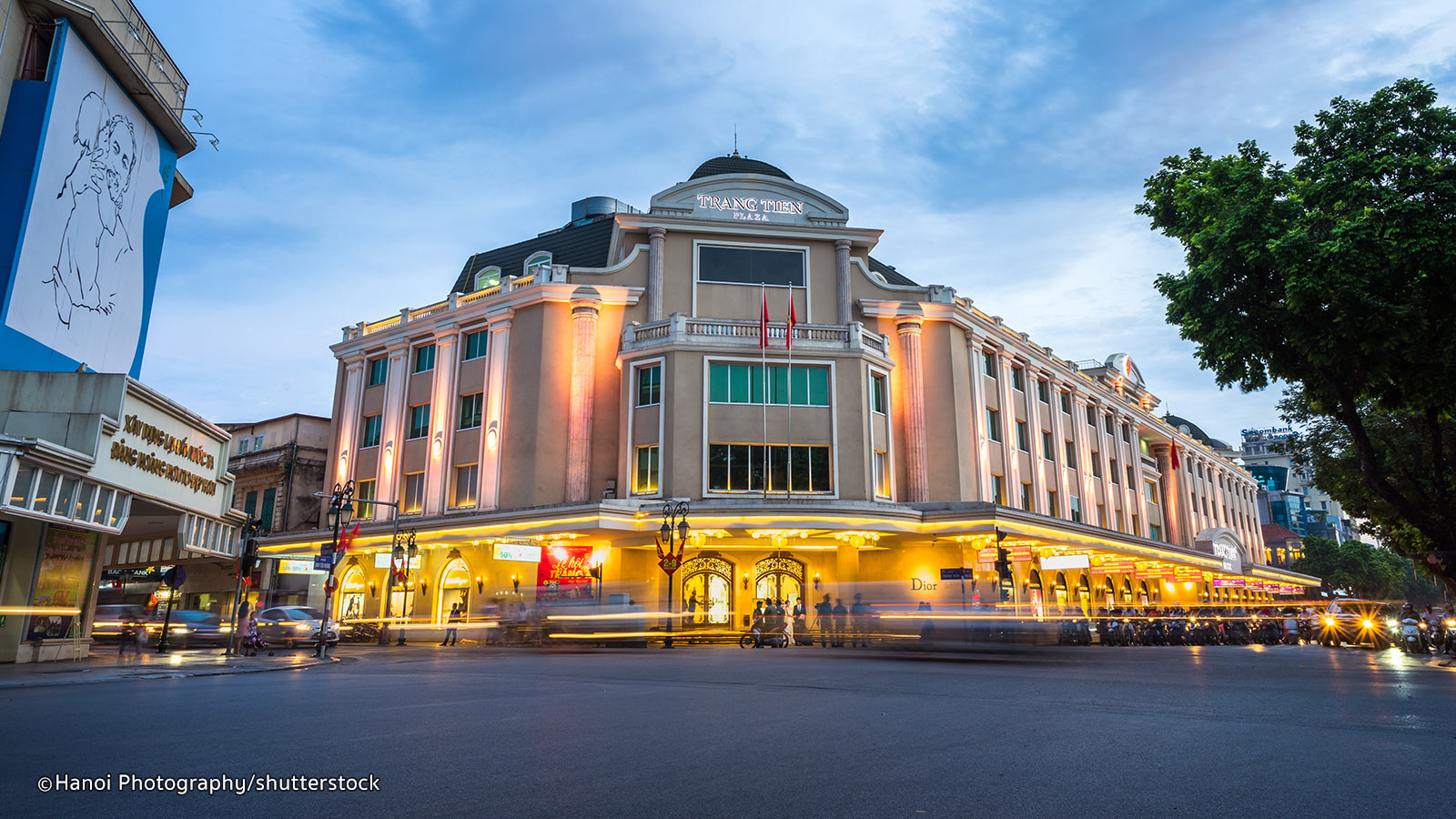 shopping mall hanoi