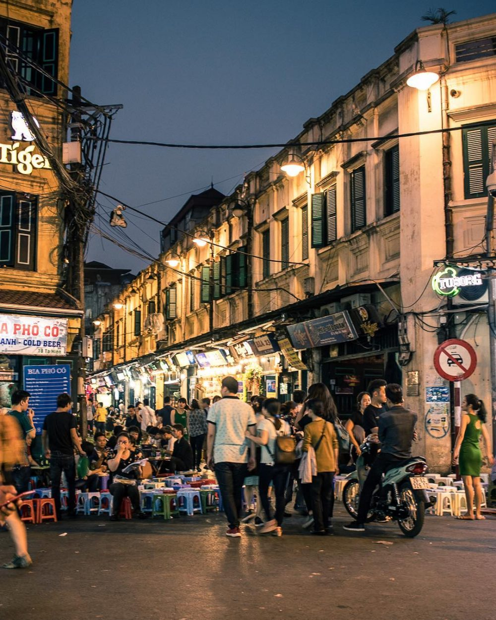 Nightlife in Hanoi – a combination of mystery and beauty