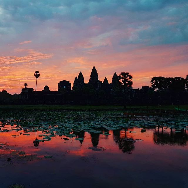 Sunrise on Angkor Wat