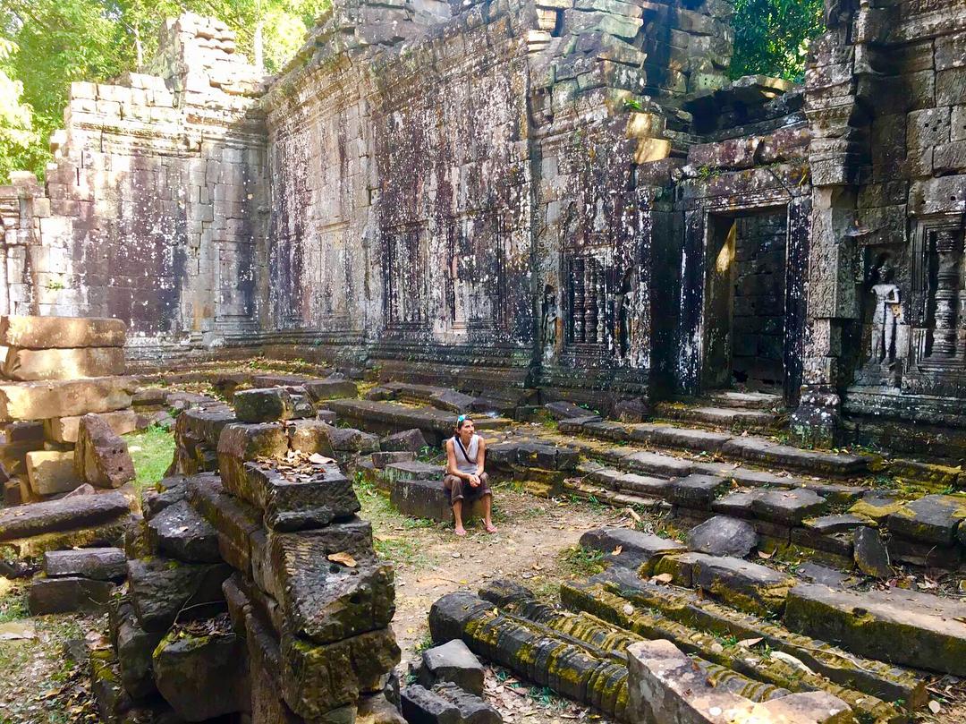 Angkor complex in Siem Reap