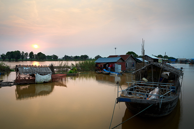 floating villages in Siem Reap