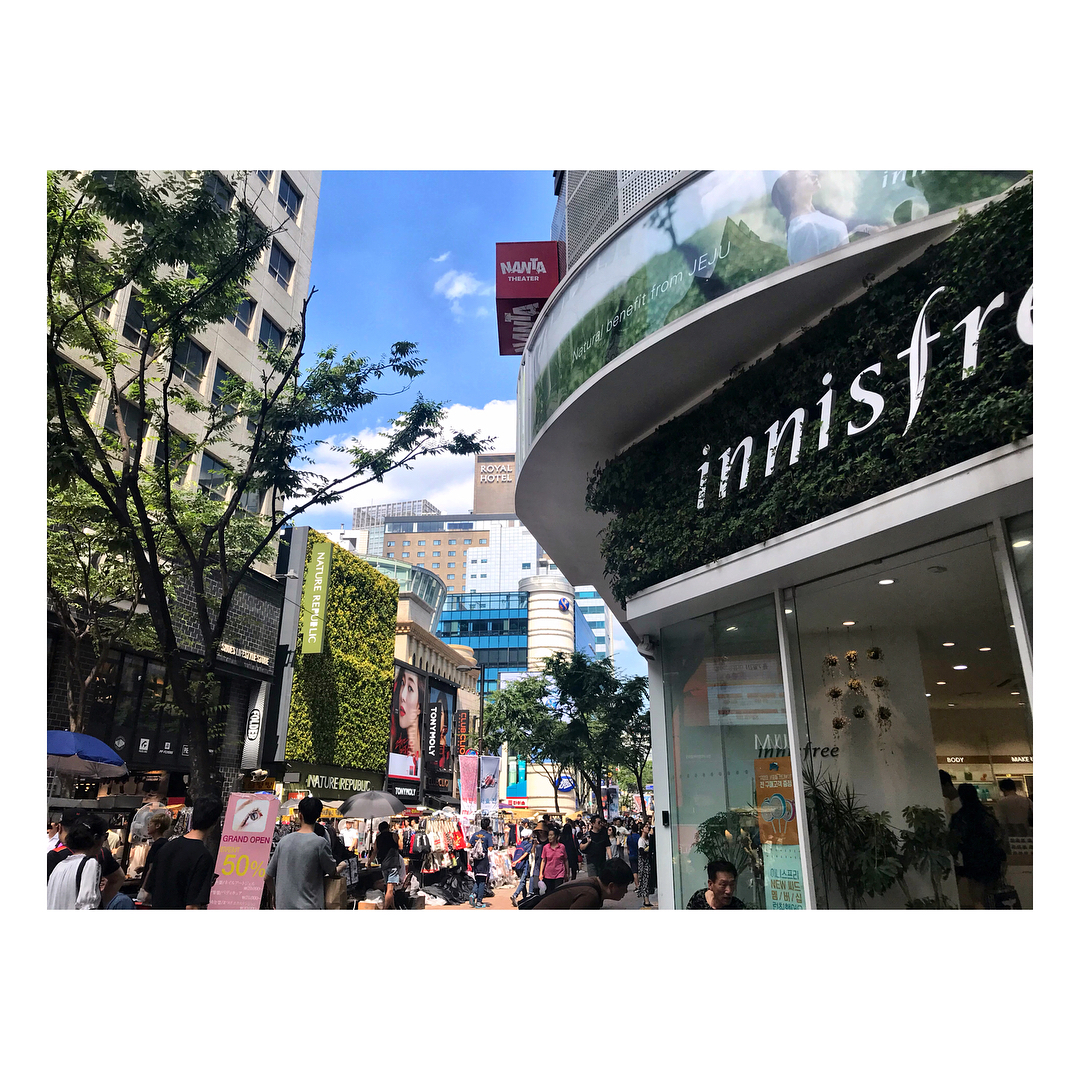 myeongdong shopping