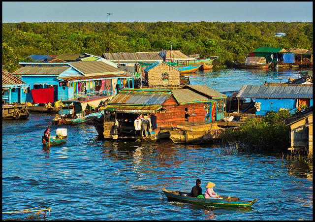 floating villages in siem reao