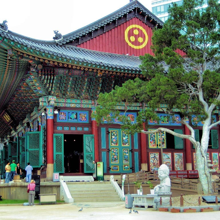 Detail guide to Jogyesa temple