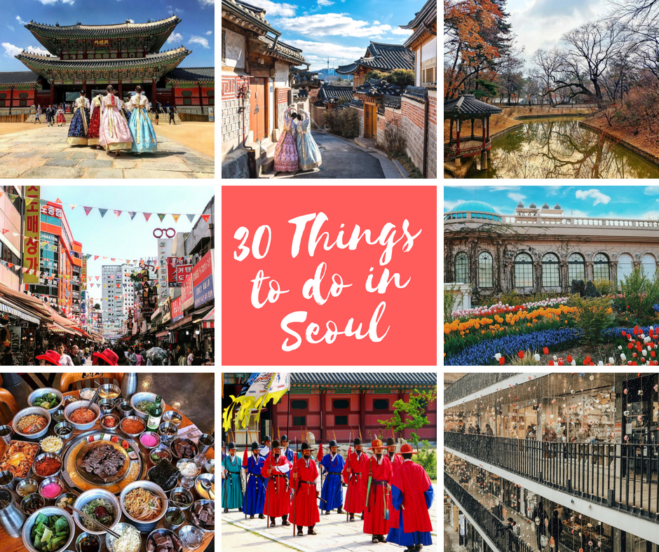 30 amazing things to do in Seoul