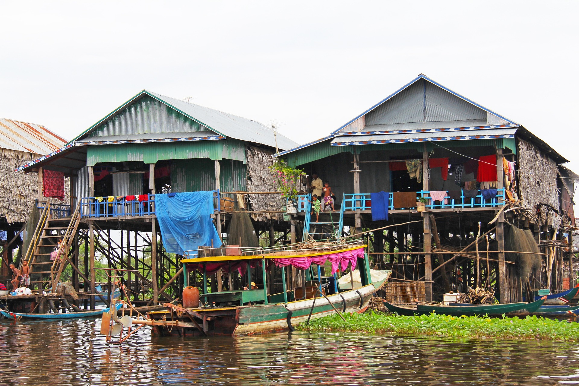 floating village in Siem Reap