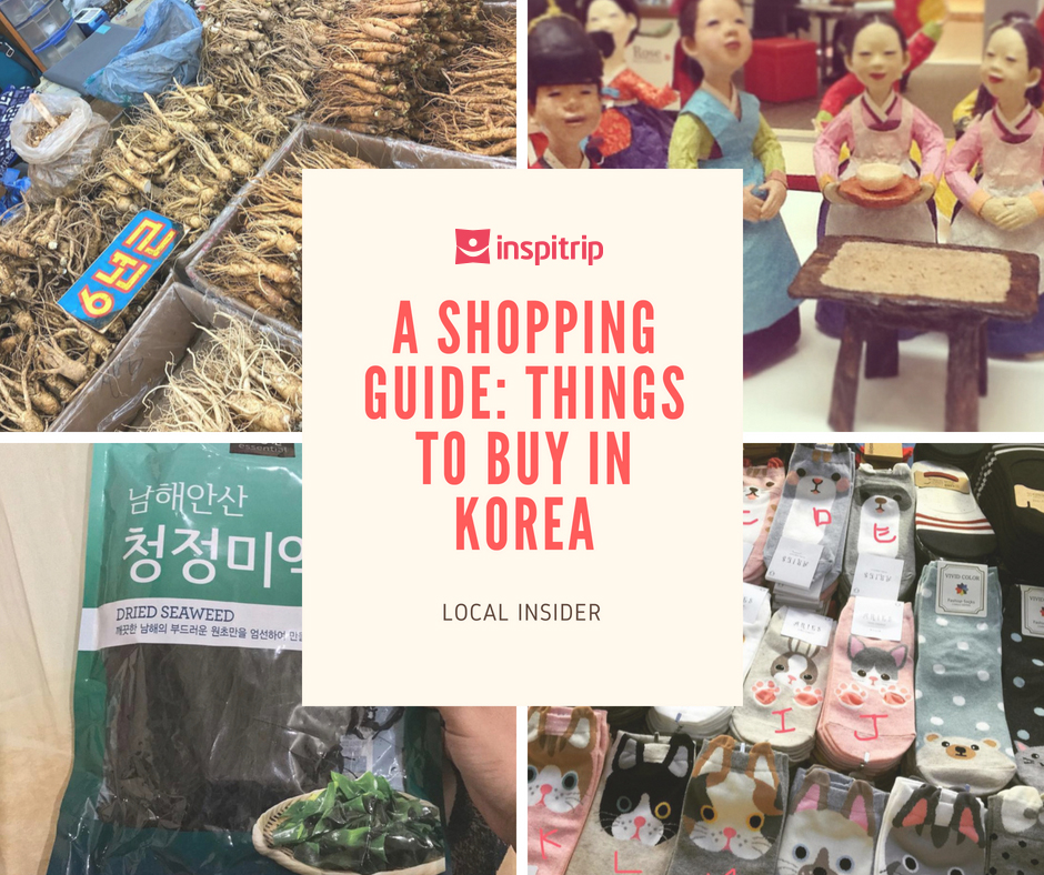 things to buy in Korea