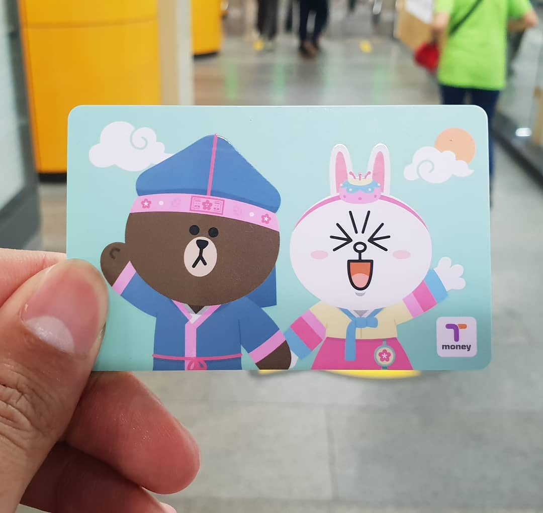 travelling pass for Seoul public transportation