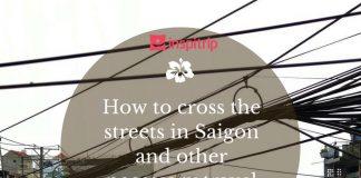 how to cross street in saigon