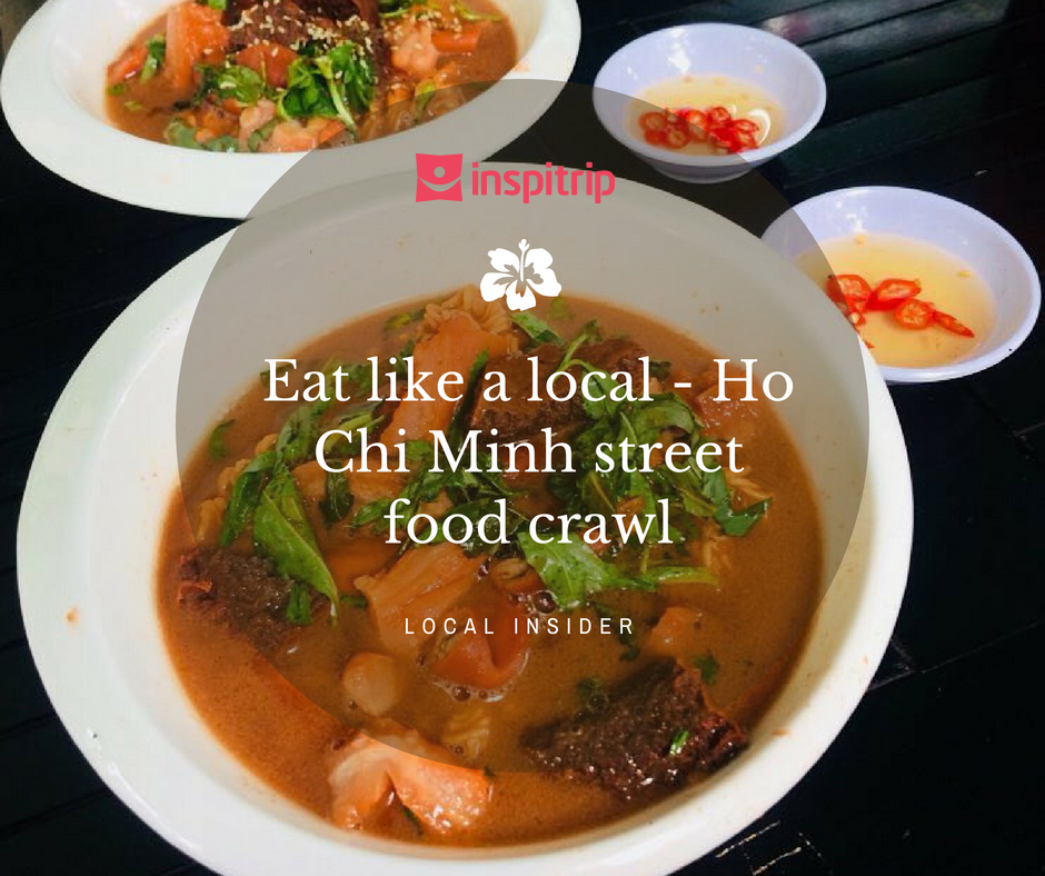 Eat like a local – Ho Chi Minh street food crawl