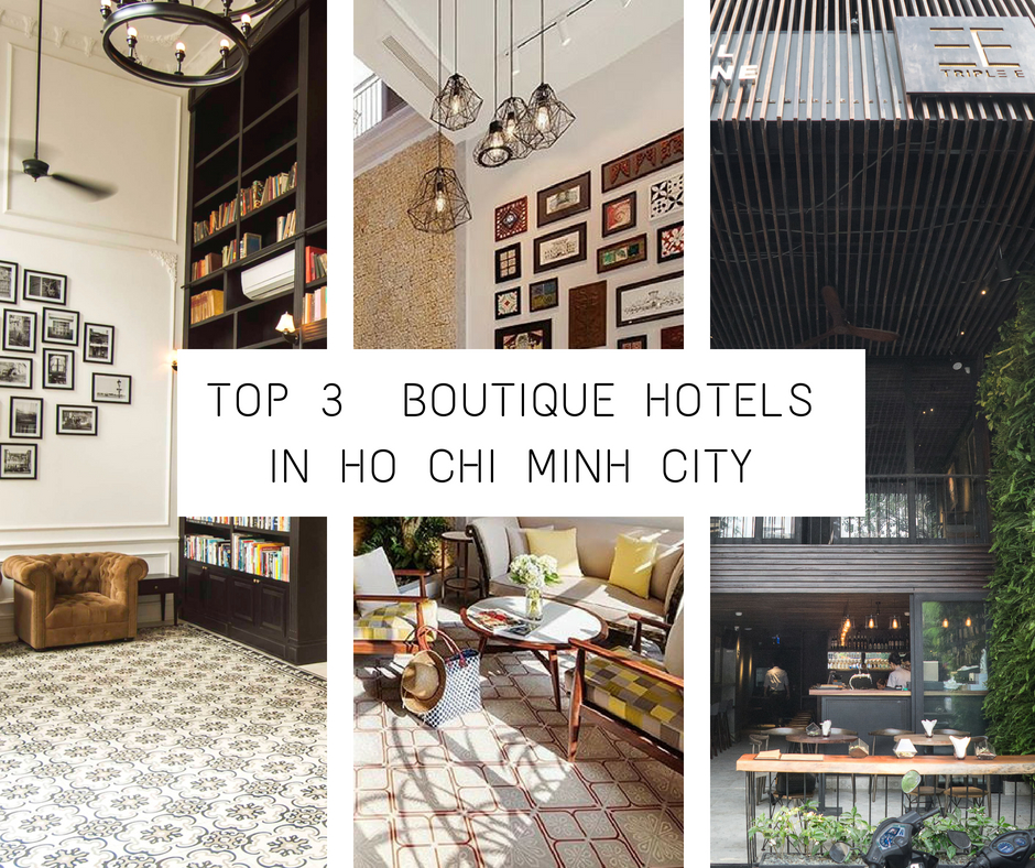 boutique hotel in hcmc