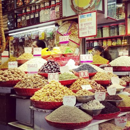 The great market of Old Delhi