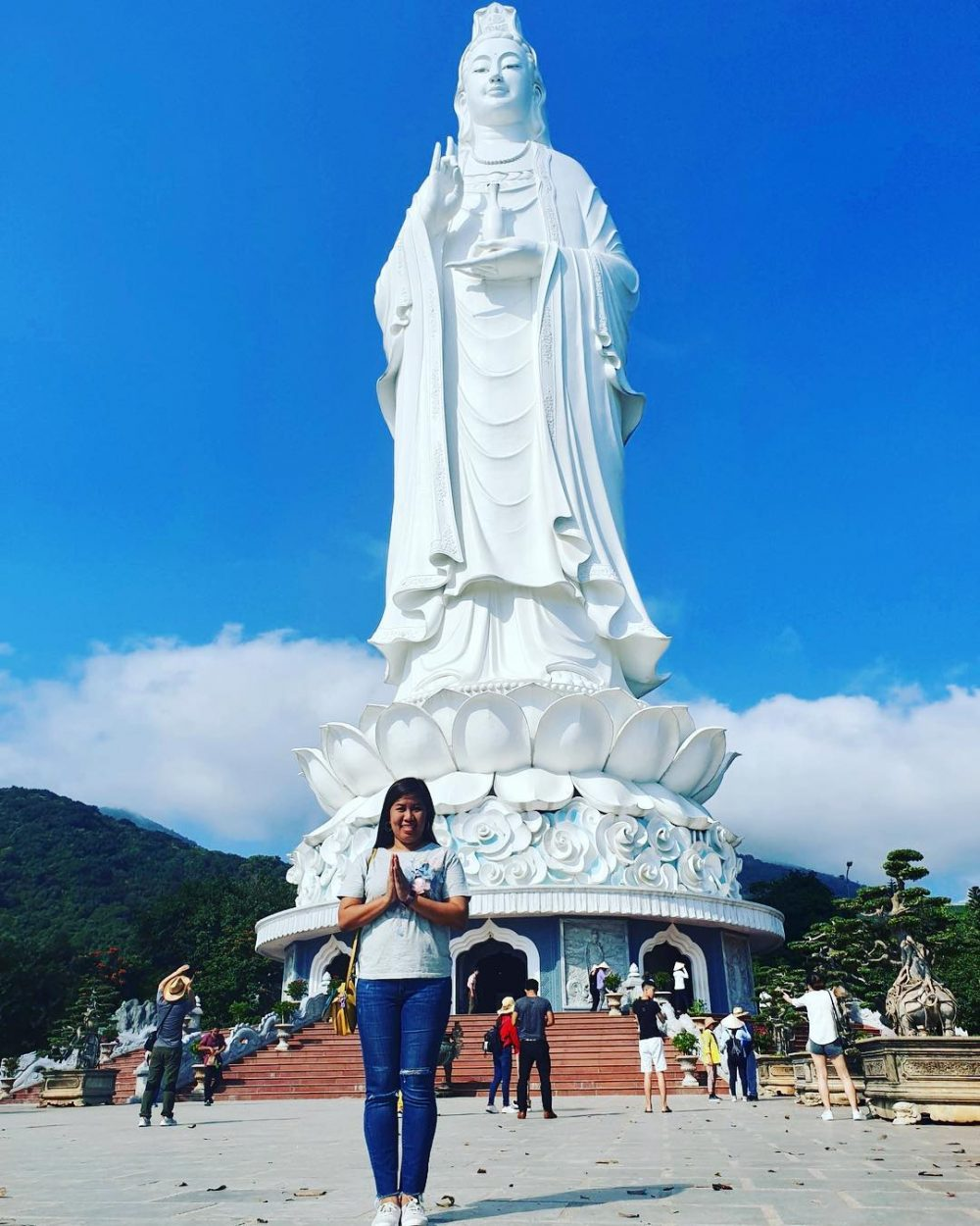 An Exciting Adventure to The Largest Pagoda in Danang – Linh Ung Pagoda on Son Tra Peninsula
