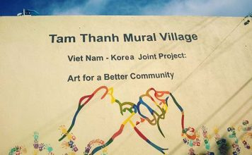 Tam Thanh mural village