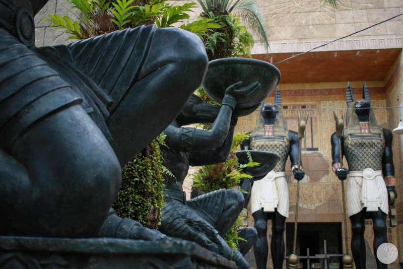 A corner at the Ancient Egypt in the Universal Studios Singapore