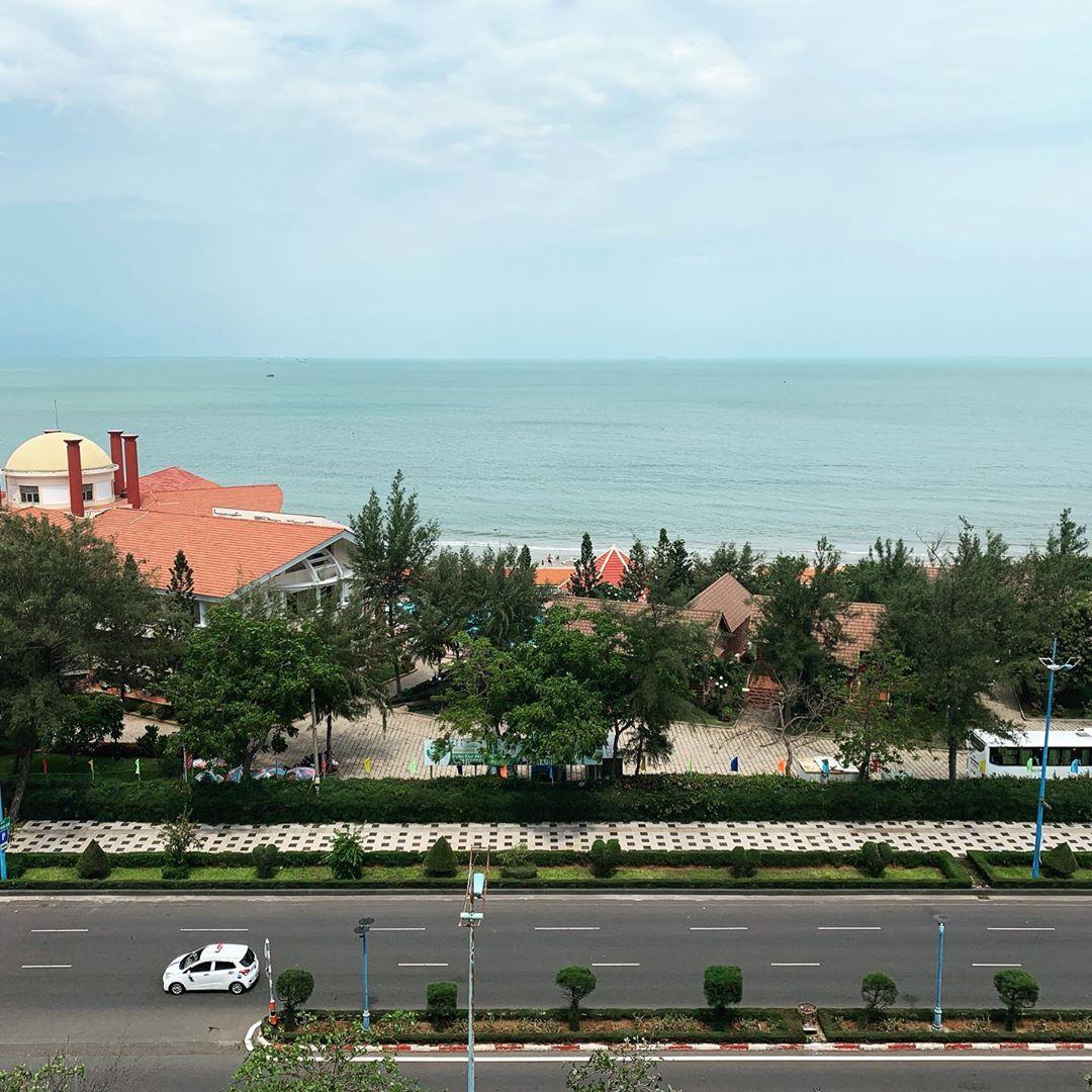 A boulevard in Vung Tau