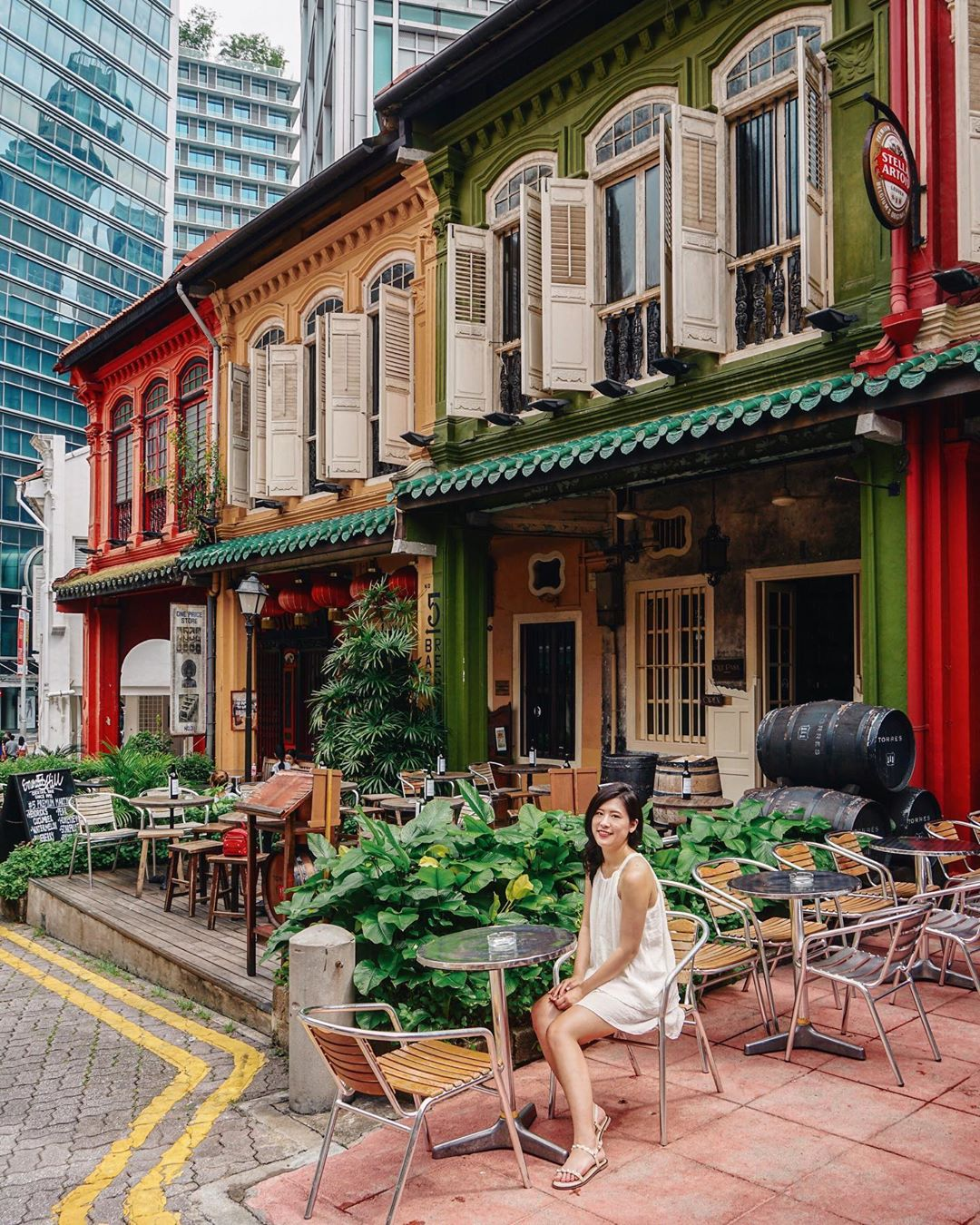 Emerald Hill streets in Singapore - Singapore itinerary